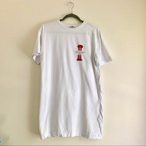 ZARA • Roman Column T-Shirt Dress
